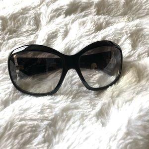 Oliver People's Crystal Black Sunglasses